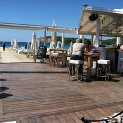 Beautiful beach setting at Blue Marlin. Good food and worth going too. Cool place. Special setting, very hipster!