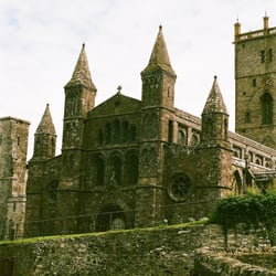 St Davids Cathedral, Haverfordwest, Pembrokeshire, UK