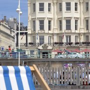 Brighton Beach And Kings Hotel