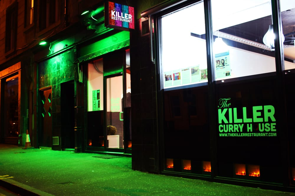 The killer restaurant 10 photos indian restaurants for O kitchen edinburgh menu