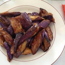 Chu's Cafe - Beautiful eggplant in garlic sauce - Basking Ridge, NJ, Vereinigte Staaten