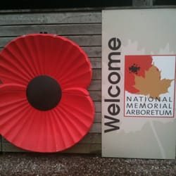The National Memorial Arboretum, Burton-on-Trent, Staffordshire