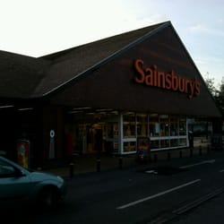 Sainsburys main entrance
