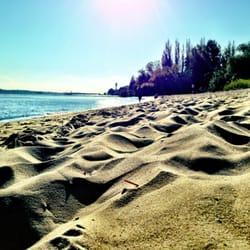 Feinster Sand und viel Platz
