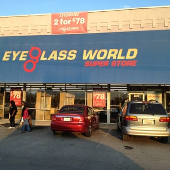 eyeglass world opticians pensacola fl united states