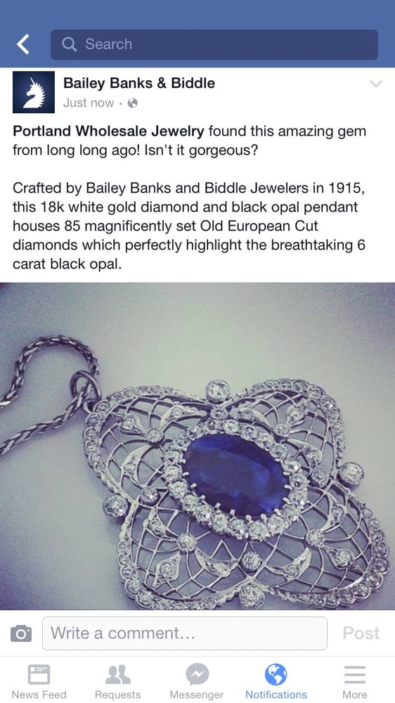 One of our Bailey Banks and Biddle pieces that was featured on the ...