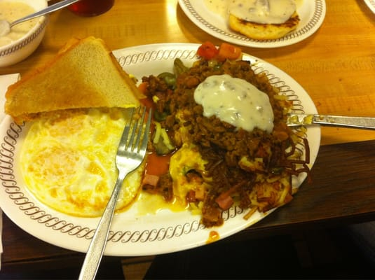 Waffle House Loaded Hash Browns Loaded Hash Browns Will Put