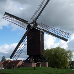 Bockwindmühle Papenburg, Papenburg, Niedersachsen