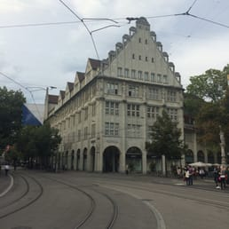 Famous Grieder-building from paradeplatz