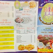 Mr hook fish chicken seafood restaurants for Hook fish and chicken menu