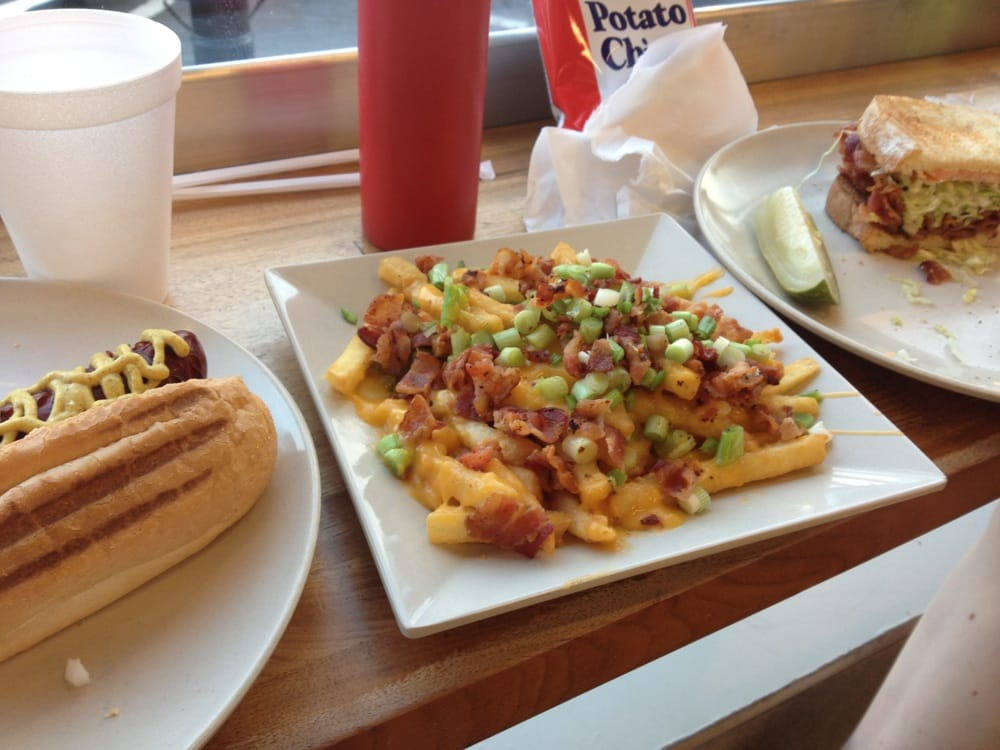 Nick S Corner Hot Dog Burger