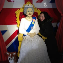 With the QUEEN!!