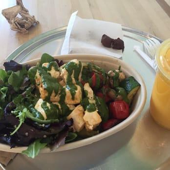 Stick - Sunnyvale, CA, United States. Tofu, grilled vegetables, salad ...