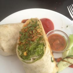Santa Fe wrap - slightly eaten