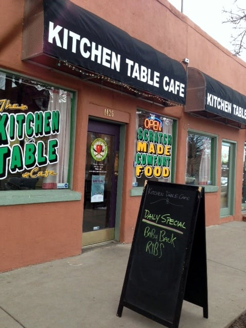 Kitchen Table Cafe - Denver, CO, United States. Kitchen Table Cafe