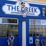 "The Greek Authentic Cuisine - Tucked back from the curb by a parking lot ""The Greek"" can be easy to miss if you don't know what you're looking for. - Santa Cruz, CA, Vereinigte Staaten"
