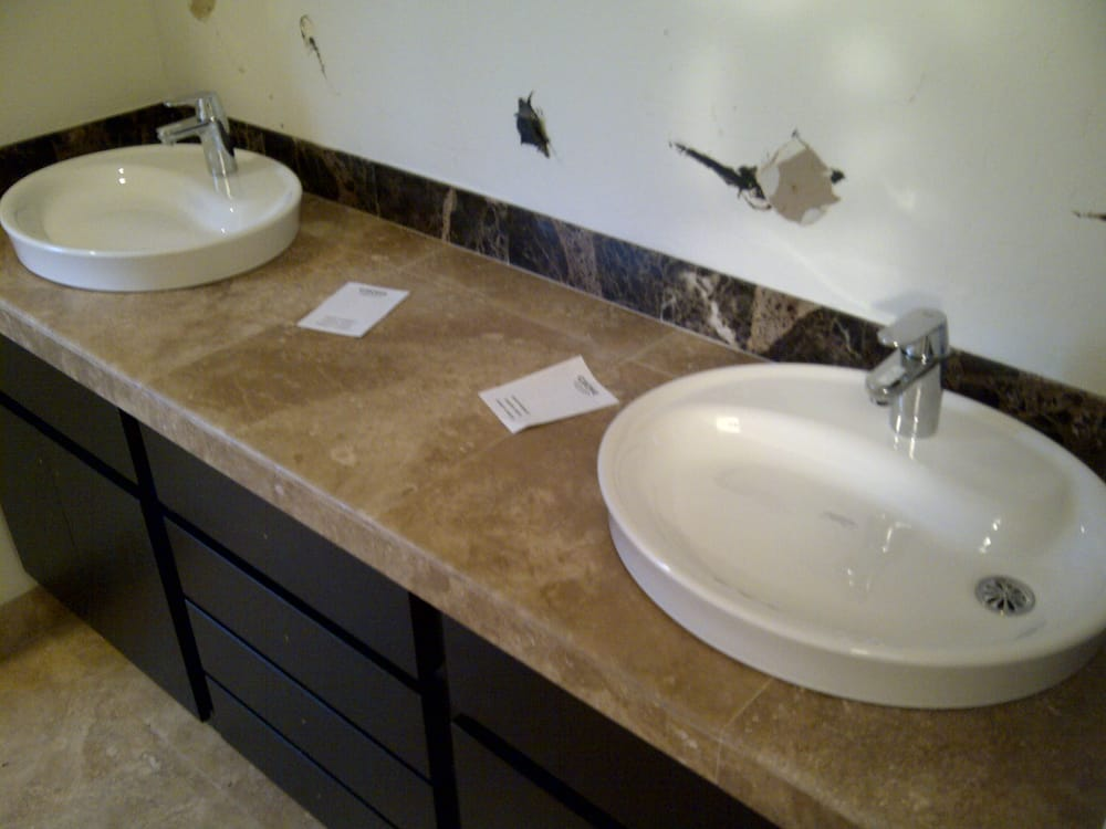 we install all types of bathroom sinks and faucets yelp