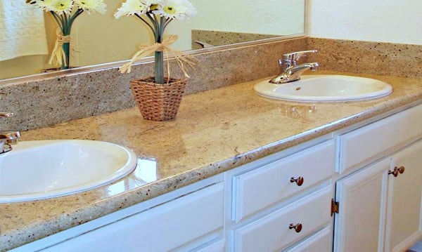 Bathroom Cabinets Granite Countertops Yelp