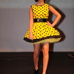 Hide and Sleek designs held a Couture For You Fashion Show..here are a selection of their beautiful dresses made from fabric