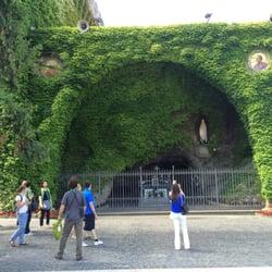 copia grotta di Lourdes