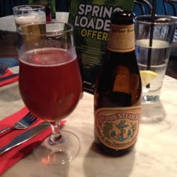 Yes, my dear, I'm having a bottle of Anchor Steam.