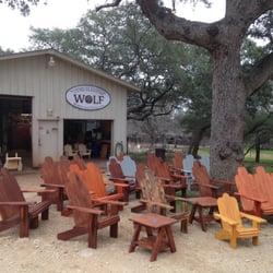 Wimberley Outdoor Living Furniture Wolf San Marcos Tx United States Outside Our Workshop