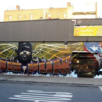 big pun memorial mural art galleries longwood bronx