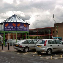 Manor Walks Shopping Centre, Cramlington, Northumberland