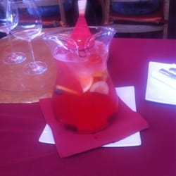 Sangria with cava