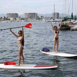 Marina Del Rey Boat Rentals - Marina Del Rey, CA, United States. Have fun and get some exercise paddle boarding!