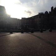 Sunny Victoria square