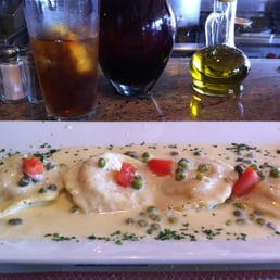 Lobster ravioli! So yummy!