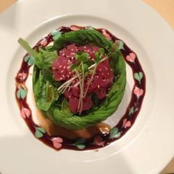 Chopstix Gourmet and Sushi Bar - tuna avocado app - Raleigh, NC, Vereinigte Staaten