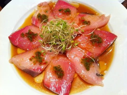hamachi carpaccio serrano hamachi carpaccio hamachi sashimi dsc02169 ...