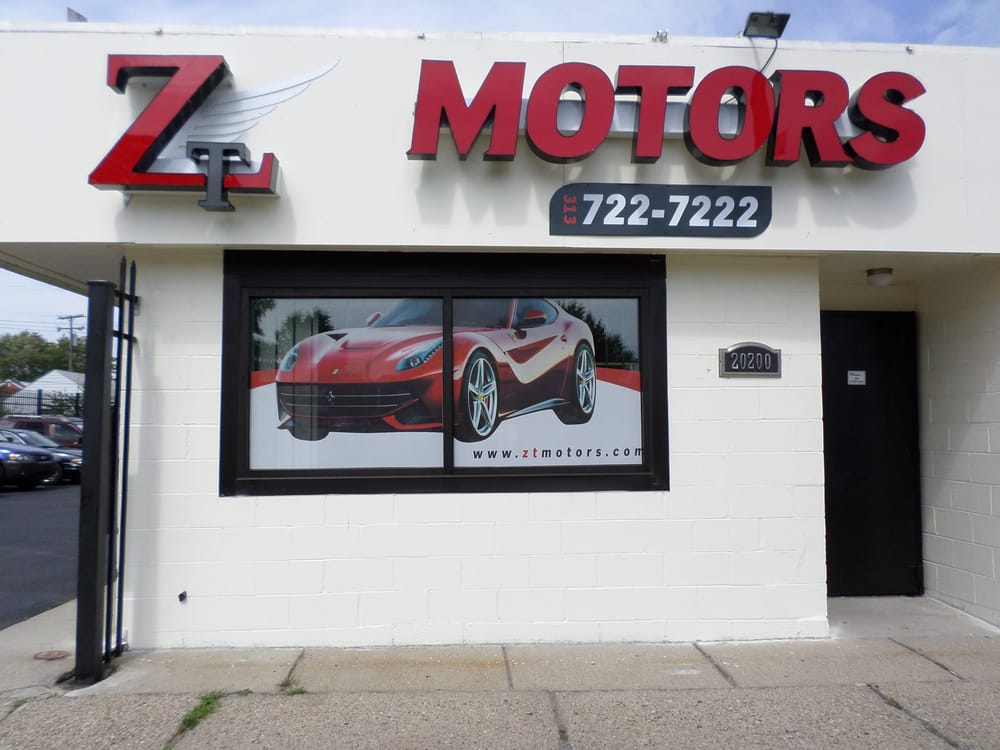 zt motors car dealers warrendale detroit mi