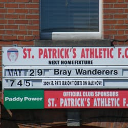 Saint Patrick's Athletic FC, Dublin, Ireland
