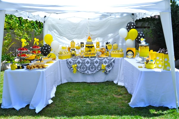 ... Baby Shower Food, Drink, and Dessert Tent - Oceanside, CA, United