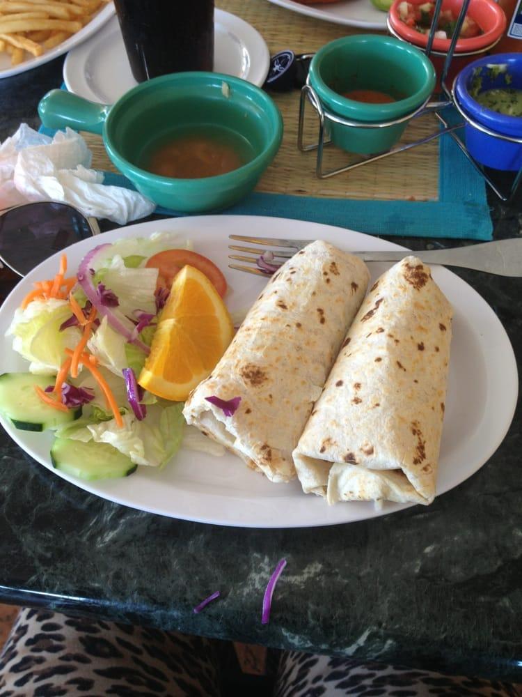 Burritos de camaron lunch special | Yelp