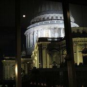 View of St. Paul's Cathedral from the Restaurant