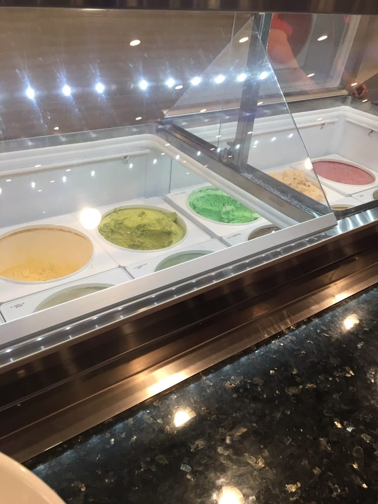 Variety Of Ice Cream To Choose From Yelp