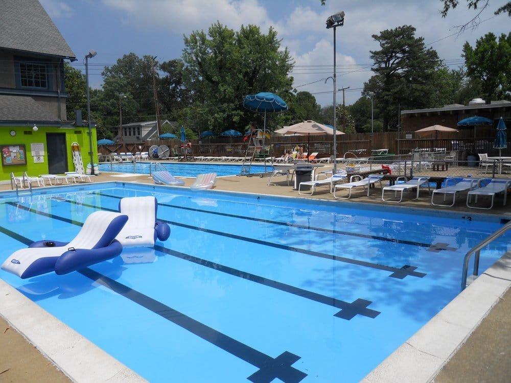 Lewis Ginter Recreation Association Swimming Pools Ginter Park Richmond Va United States