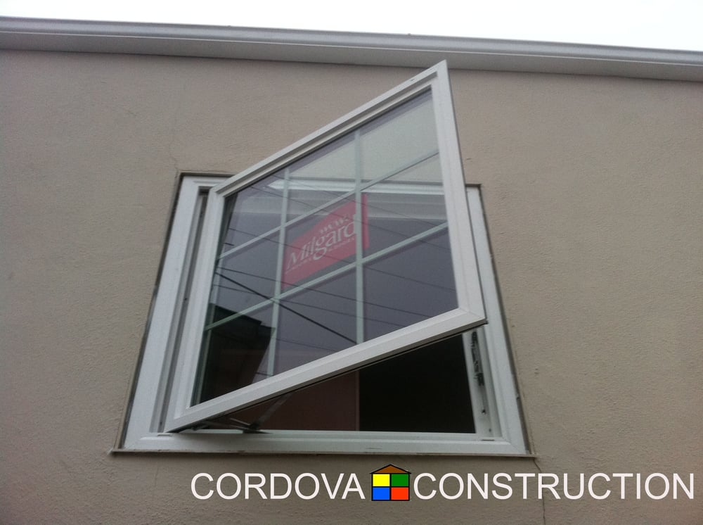New Construction Casement Window Replacement With Matching