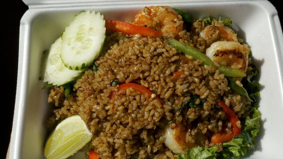Spicy Thai Fried Rice With Shrimp Spicy Brown Shrimp Fried