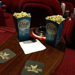 Ciné Deluxe - Popcorn à discretion :)