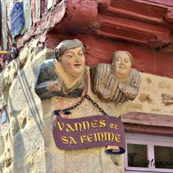 Centre ville de Vannes Altstadt von Vannes, Vannes, Morbihan, France