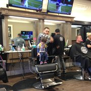 Barber Shop Chula Vista : Mooses Barber Shop and Shave - Really big shop with 10 chairs and ...