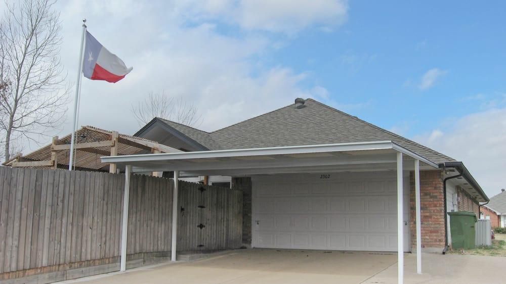 Modern Patio Carport : Modern home patio carport co contractors dallas tx