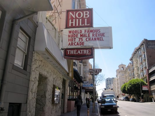 Adult theaters in san francisco