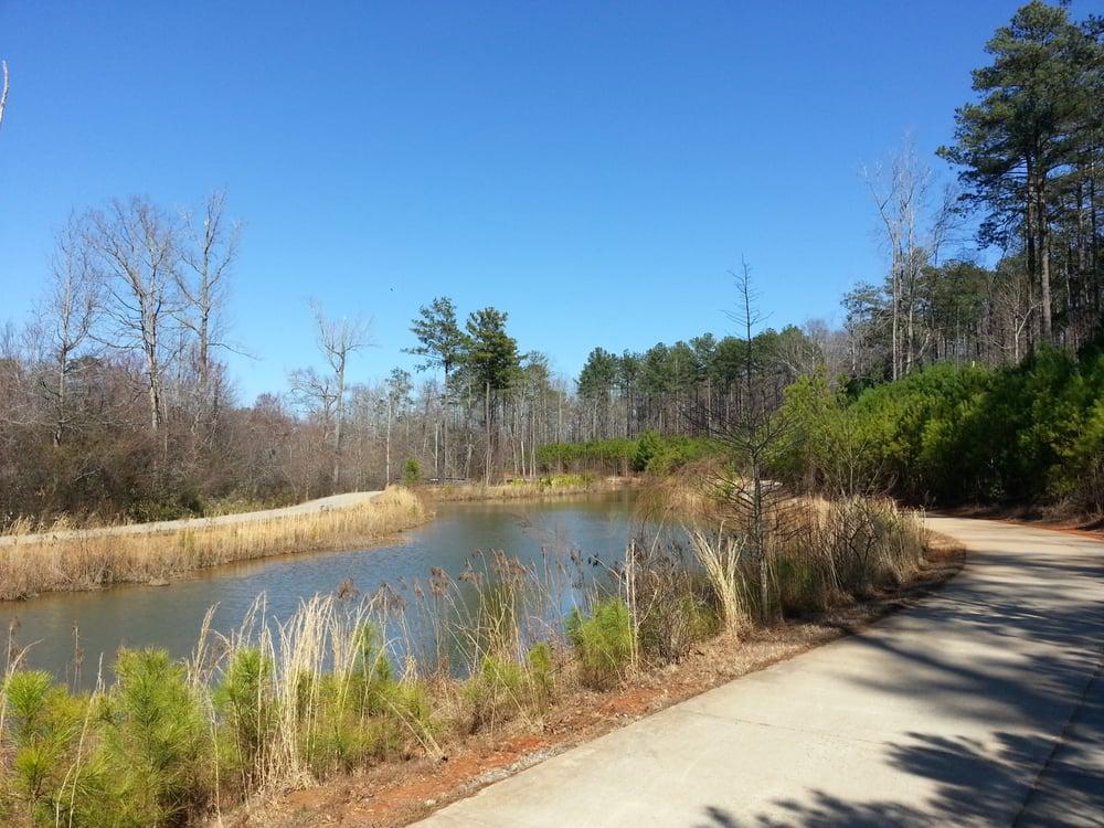 Big Creek Park Roswell ga Big Creek Park Paved Trail Around Wetlands Roswell ga United States