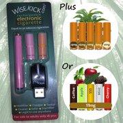 Wisekick eCigarette Starter Kit (Pink)